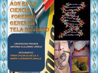 ADN en la ciencia  forense: genes en tela de juicio