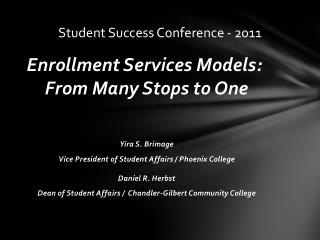 Student Success Conference - 2011