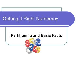 Getting it Right Numeracy