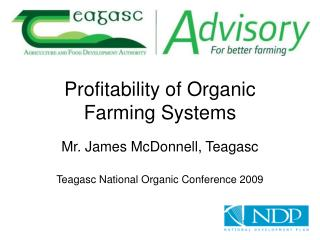 Profitability of Organic Farming Systems