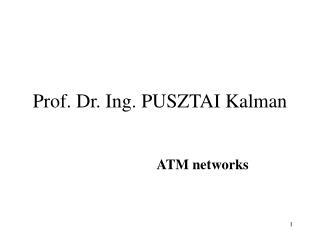 Prof. Dr. Ing. PUSZTAI Kalman