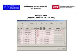 Обучение пользователей RS BasLab