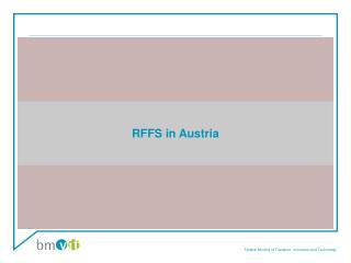RFFS in Austria