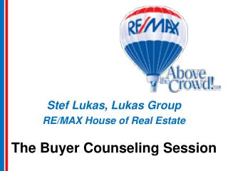 The Buyer Counseling Session