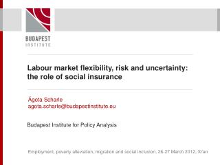 Labour market flexibility, risk and uncertainty: the role of social insurance