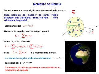 MOMENTO DE INÉRCIA