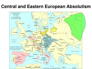 Central and Eastern European Absolutism
