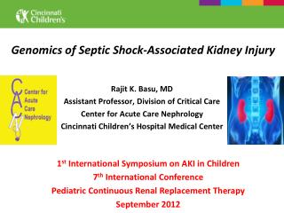 Genomics of Septic Shock-Associated Kidney Injury