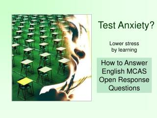 How to Answer English MCAS Open Response Questions