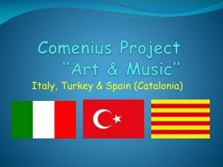 Comenius  Project ''Art &  Music ''