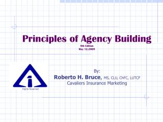 Principles of Agency Building 9th Edition  May 12,2009