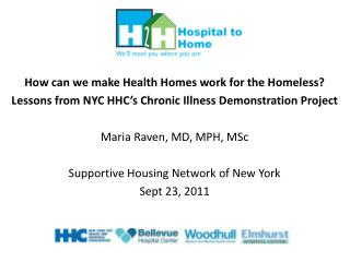 How can we make Health Homes work for the Homeless?