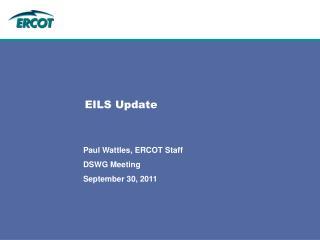 EILS Update