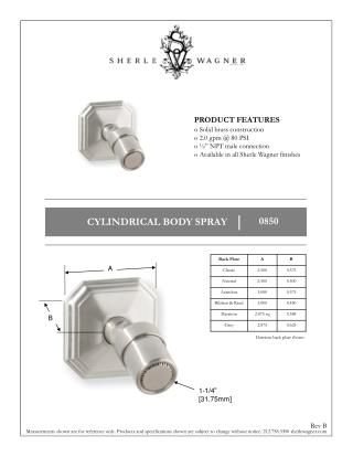 """PRODUCT FEATURES  Solid brass construction  2.0 gpm @ 80 PSI  ½"""" NPT male connection"""