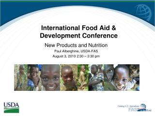 International Food Aid & Development Conference