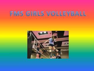 FMS GIRLS VOLLEYBALL