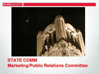 STATE COMM  Marketing/Public Relations Committee