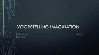 Voorstelling Imagination