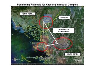 Positioning Rationale for Kaesong Industrial Complex