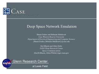 Deep Space Network Emulation