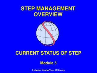 CURRENT STATUS OF STEP Module 5 Estimated Viewing Time: 30 Minutes