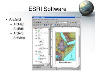 ESRI Software