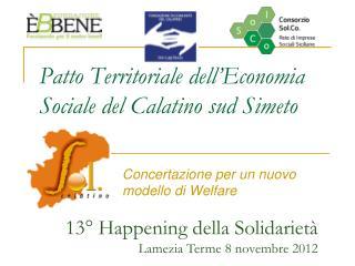 Patto Territoriale dell'Economia Sociale del Calatino sud Simeto