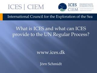 ICES  | CIEM