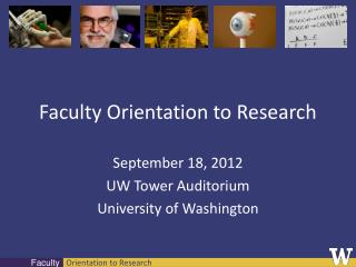 Faculty Orientation to Research