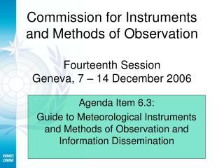 Agenda Item 6.3: