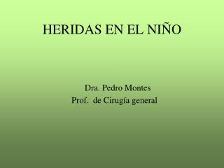 HERIDAS EN EL NIÑO