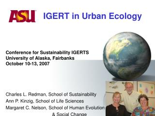 IGERT in Urban Ecology