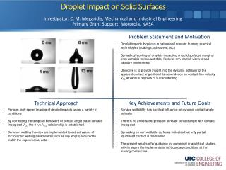 Droplet Impact on Solid Surfaces