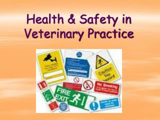 Health & Safety in Veterinary Practice