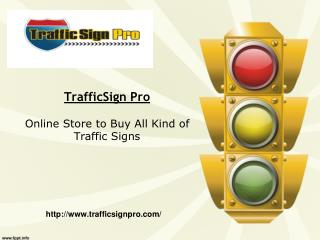 Street Sign for Sale | (877) 897-8664 | TrafficSignPro