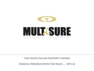 YOUR PROTECTION AND PROSPERITY PARTNER FINANCIAL FREEDOM IS WITHIN YOUR REACH .....  WITH US