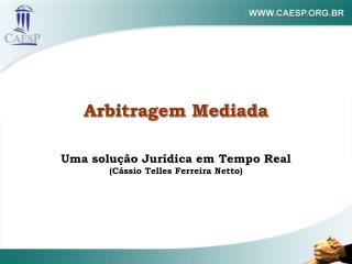 Arbitragem Mediada