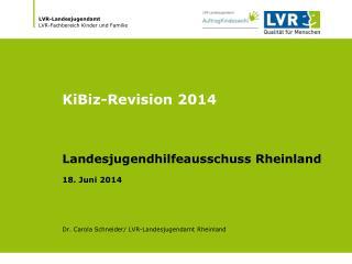 KiBiz-Revision 2014