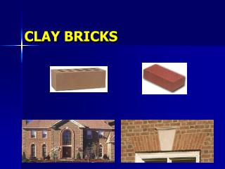CLAY BRICKS