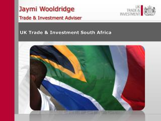 Jaymi Wooldridge Trade & Investment Adviser