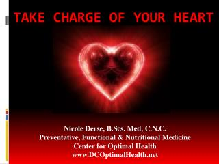 Take charge of your heart