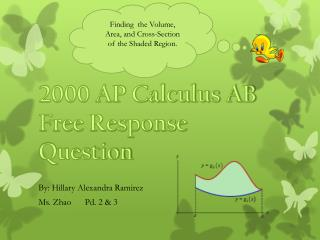 2000 AP Calculus AB  Free Response Question