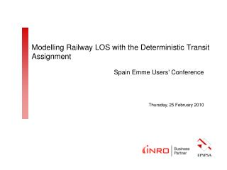 Modelling Railway LOS with the Deterministic Transit Assignment
