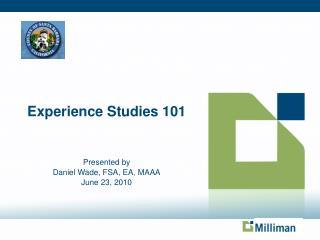 Experience Studies 101