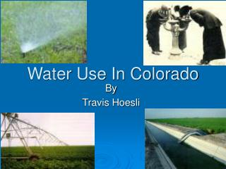 Water Use In Colorado