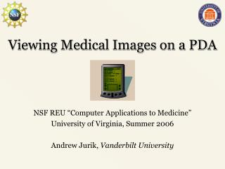 Viewing Medical Images on a PDA