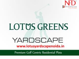 "Lotus Yardscape – In the lap of ""Mother Nature"" @9999999237"