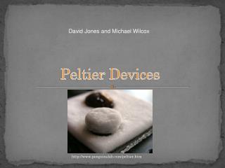 Peltier Devices