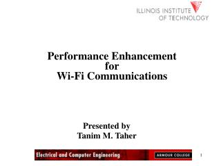 Performance Enhancement for  Wi-Fi Communications