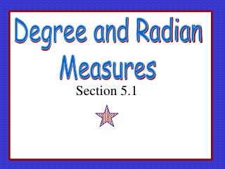 Degree and Radian  Measures